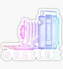 Vintage Photography - Graflex (Version 2) - Multi-Colour Sticker