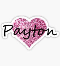 Payton Sticker