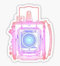 Vintage Photography - Graflex (Multi-colour) Sticker