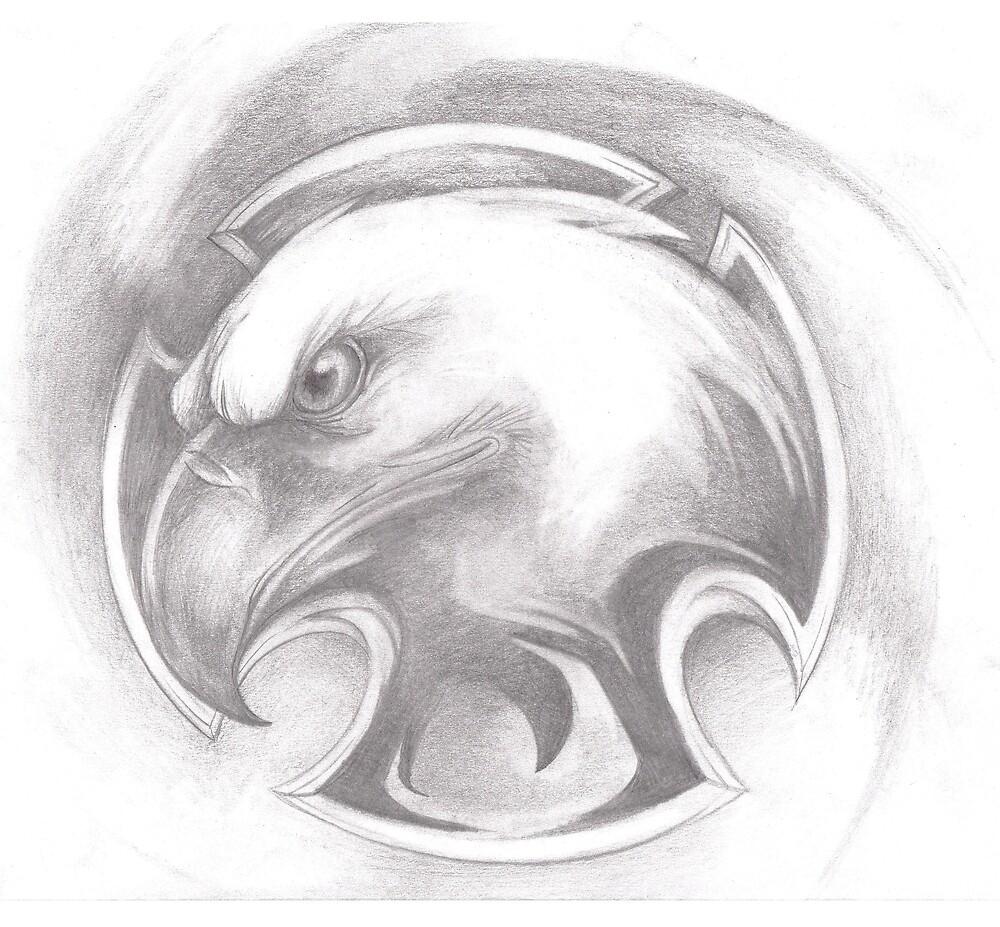 eagle badge by Dantapley
