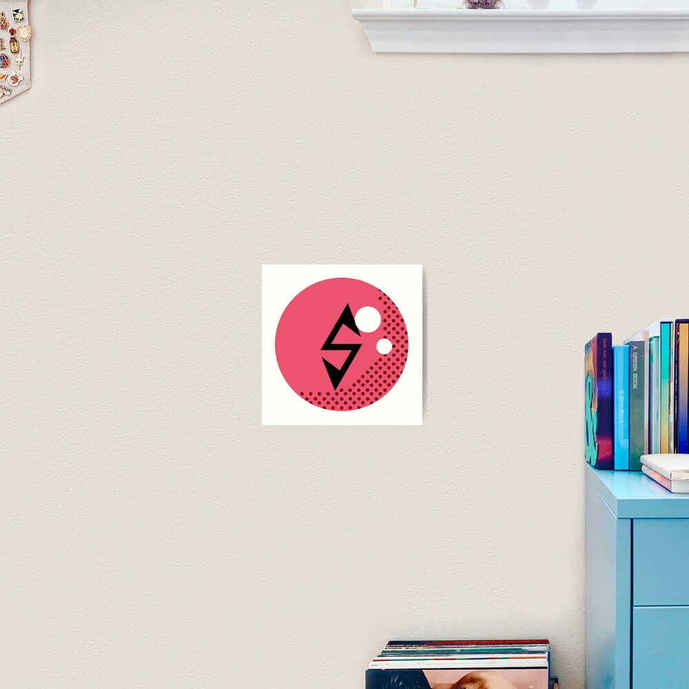 EXO POWER LOGO CHEN Art Print
