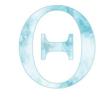 teta de mármol azul de mollysilverberg