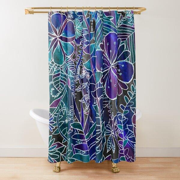GALAXY JUNGLE Shower Curtain