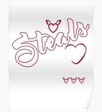 Staffy Poster