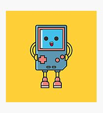 Cool Gameboy Smiling Videogame Photographic Print