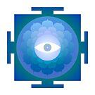 Mandala : Eye by danita clark