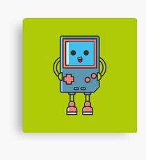 Cool Gameboy Smiling Videogame Canvas Print