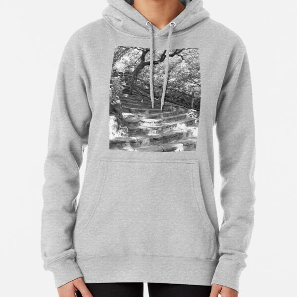 Stone Steps - Shakespeare Garden - Central Park, NYC Pullover Hoodie