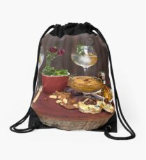 Platter Drawstring Bag