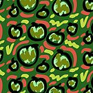 Techno IX (Apples) (2017) - by artcollect by artcollect