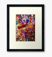 Trippy Framed Print