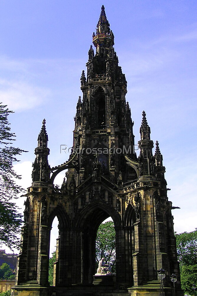 The Scott Monument,  Edinburgh by RodrossarioMP