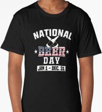 National Beer day Jan 1 Dec 31 tee Long T-Shirt