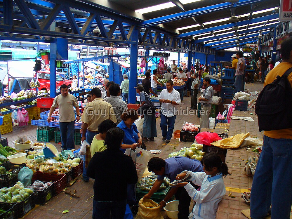 Just another Pic of the Cartago Market by Guy C. André Tschiderer