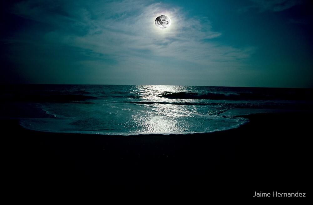 """""""Lover's Moon"""" by Jaime Hernandez"""