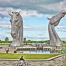 the Kelpies , Helix Park, Grangemouth by David Rankin
