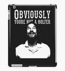 Not a Golfer iPad Case/Skin