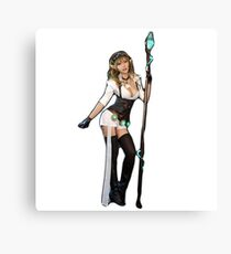 Magic elf Canvas Print