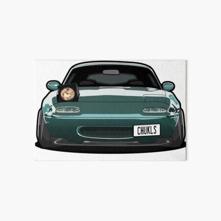 Miata Wink Car Art Board Print