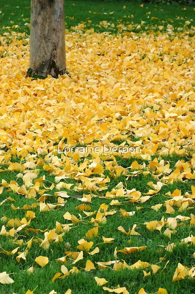 Golden Shower by Lorraine Deroon
