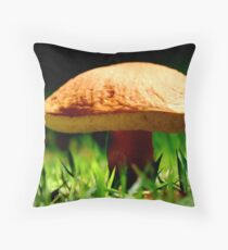 Under the Mushroom Throw Pillow