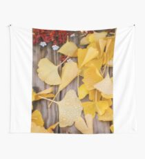 Ginkgo Featured Wall Tapestry