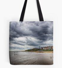 Stormy Seaside Tote Bag