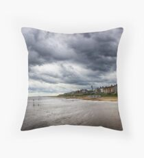 Stormy Seaside Throw Pillow