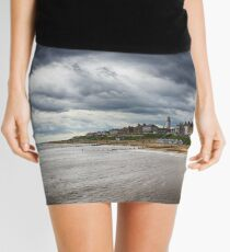 Stormy Seaside Mini Skirt