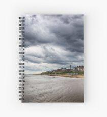 Stormy Seaside Spiral Notebook
