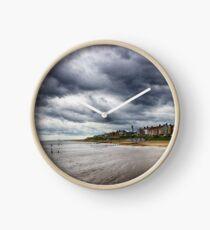 Stormy Seaside Clock
