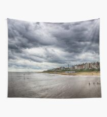 Stormy Seaside Wall Tapestry