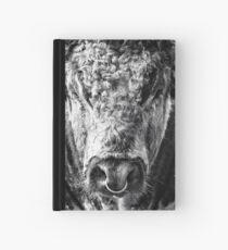 English Longhorn Bull Hardcover Journal