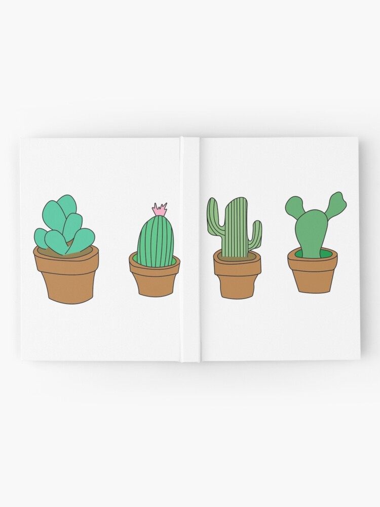 Alternate view of My friendly cactus family Hardcover Journal