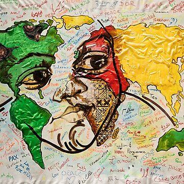 Mappa Mundi by Buatshini