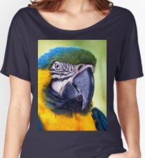 Macaw Parrot Women's Relaxed Fit T-Shirt