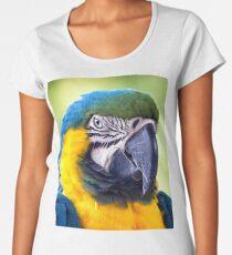 Macaw Parrot Women's Premium T-Shirt