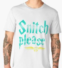 Snitch Please Men's Premium T-Shirt