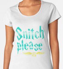 Snitch Please Women's Premium T-Shirt