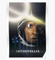 Interstellare Malerei Poster