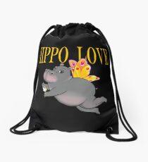 Hippo-Liebes-Schmetterlings-Effekt Rucksackbeutel