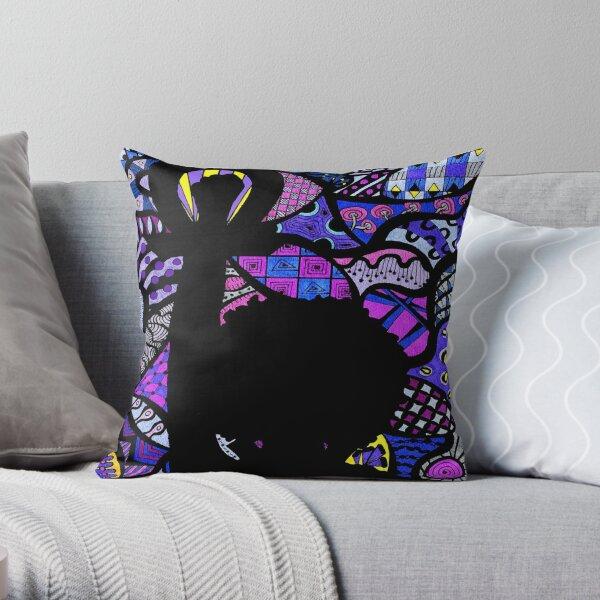 Radical Grace Throw Pillow