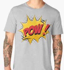 Cartoon Book Pow Comic  Men's Premium T-Shirt