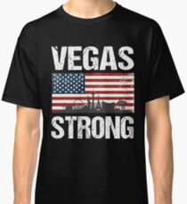 Las Vegas Strong Flag T-Shirt Classic T-Shirt