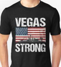 Las Vegas Strong Flag T-Shirt T-Shirt