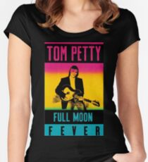Tom Petty Full Moon Fever Women's Fitted Scoop T-Shirt