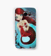 Ruby Big Eye Mermaid by Molly Harrison Samsung Galaxy Case/Skin