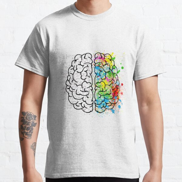 BEAUTIFUL NERDY BRAIN T-shirt Classic T-Shirt