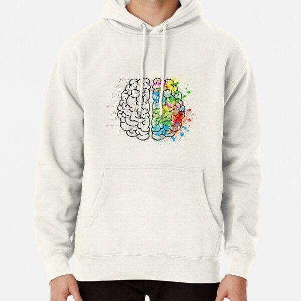BEAUTIFUL NERDY BRAIN T-shirt Pullover Hoodie