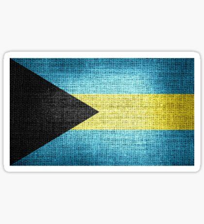 Bahamas Flag Sticker